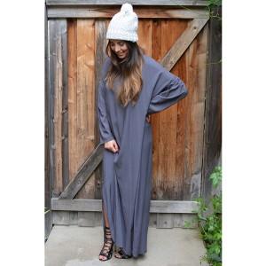 first-image-multi-maxi-midnight-grey-dress